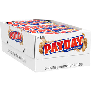 Payday Peanuts and Caramel Candy Bars 1.85 oz,