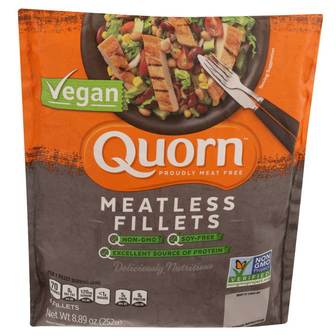 Quorns Vegan Meatless Fillets, 8.9 Ounce