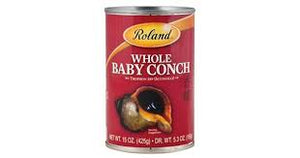 ROLAND WHOLE BABY CONCH 15 OZ