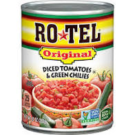 RoTel Original Diced Tomatoes with Green Chilies,