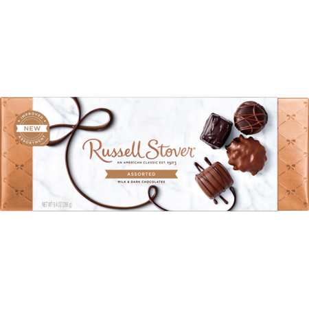 Russell Stover All Dark Fine Chocolate 9.4 OZ