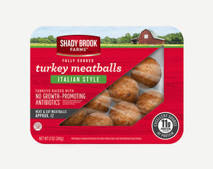 Shady Brooks Farm Fully Cooked Turkey Meatballs