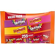 Starburst and Skittles Fun Size Variety Mix, 255 ct.