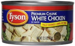 Tyson Chunk White Chicken 12.5 oz