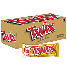 Twix Single Cookie Bars, 36 ct