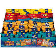 WISE 50 VARIETY CHIPS