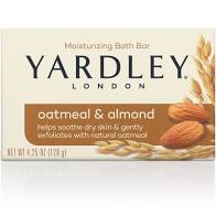 YARDLEY OF LONDON OATMEAL & ALMOND 4.25 OZ 1 BAR