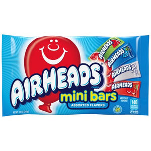 Airheads Assorted Mini Bars 12 OZ