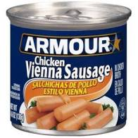 Armour Chicken Vienna Sausage 4.6 OZ