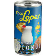 Coco Lopez Cream Of Coconut 15 OZ