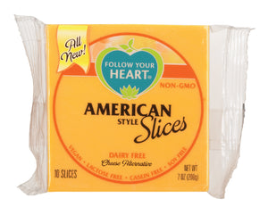 Follow Your Heart American cheese 7 oz