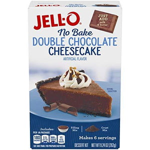Jell-O No Bake Classic Cheesecake Dessert Mix, 11.1 oz Box