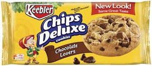 KEEBLER CHIPS DELUXE CHOCOLATE LOVER COOKIE 13.3 OZ