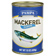 Pampa Mackerel in Brine, 15 oiz.