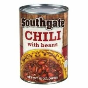 Southgate Stew, Hash, Chili 15 oz. Cans