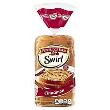 PEPPERIDGE FARM SWIRL CINNAMON BREAD 16 OZ