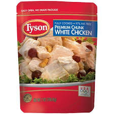 Tyson chicken Packet