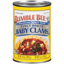 Bumble Bee Clams