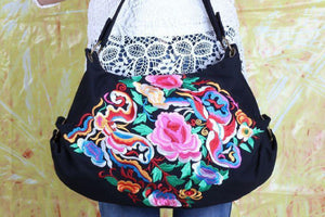 Hand Embroidered Thai Shoulder Bag