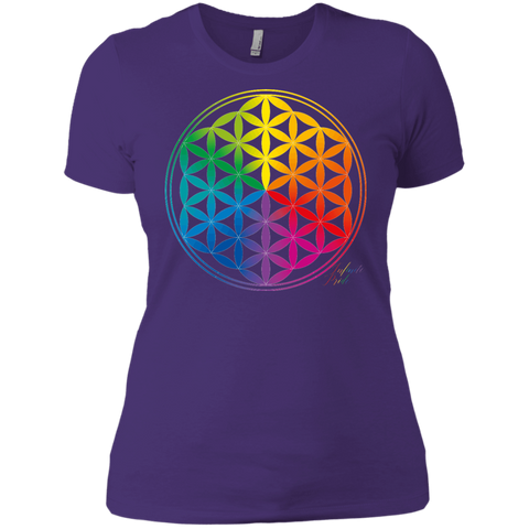 Infinite Pride, Flower Of Life - Womens Casual Tee