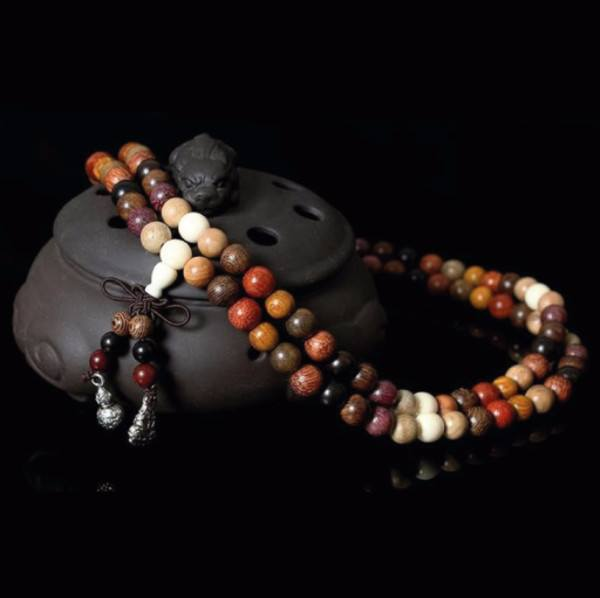 Beads - SandalWood Rosary Mala Prayer Beads