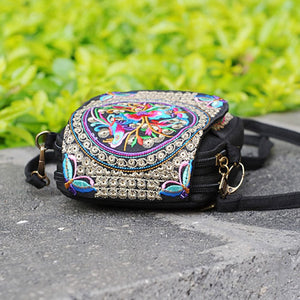 Hand Embroidered Ethnic Sling Bag