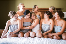 Load image into Gallery viewer, Gray Bridesmaid Romper