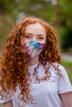 Load image into Gallery viewer, Tie Dye 3 Layer Cotton Reuasable Face Mask