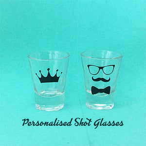 Personalised Shot Glasses