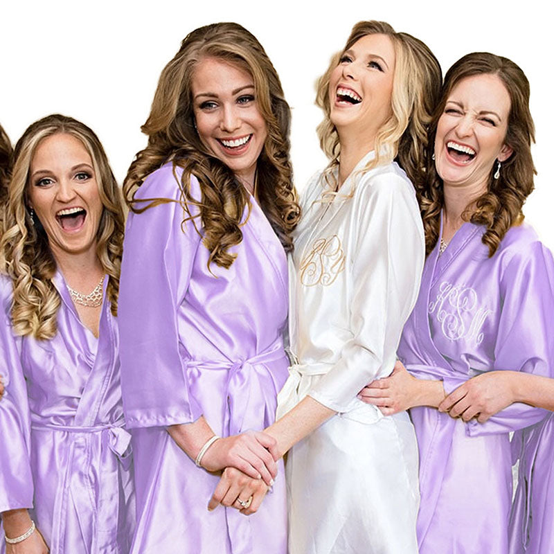 Copy of Champagne Bridesmaid Robe Set