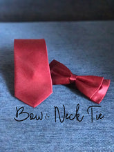 Load image into Gallery viewer, Maroon Neck Tie