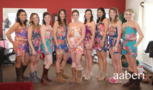 Load image into Gallery viewer, Floral Bridesmaid Romper Bridesmaid Gift