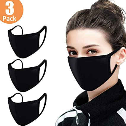 Plain Face Mask - Triple Layered