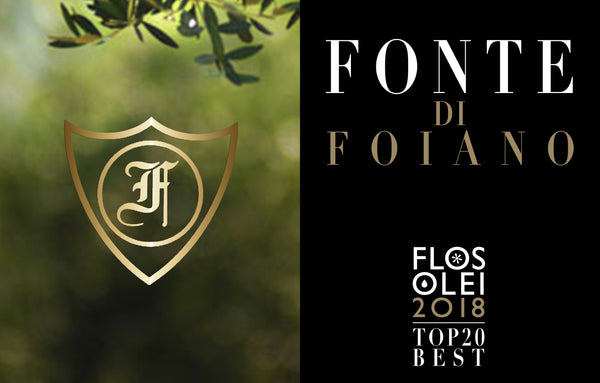 6 x 500ml Ex Virgin Oliveto Fonte di Foiano Grand Cru, Tuscany