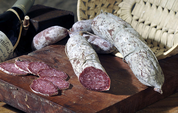 FOOD BANK: Salame of Wild Boar from Apennine Mountains (AVAILABLE FROM DECEMBER 2019)