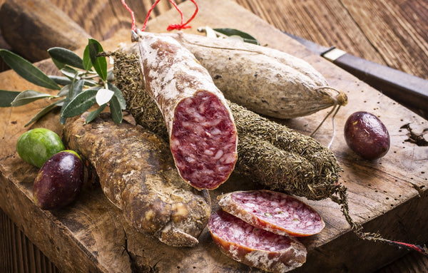Rare Cinta Senese DOP Salame Collection, Apennine Alps