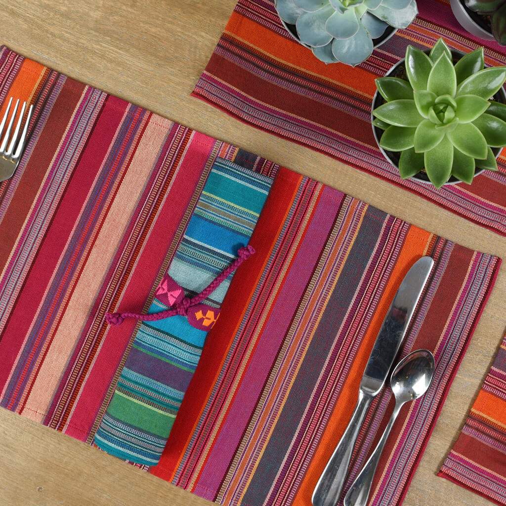 Mayamam Stripes Placemat Sets