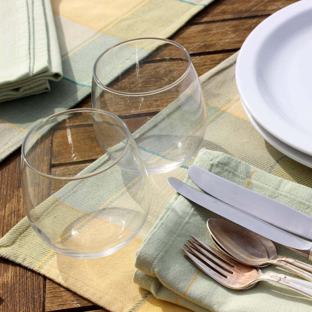 Plaid Twill Placemats | On Sale
