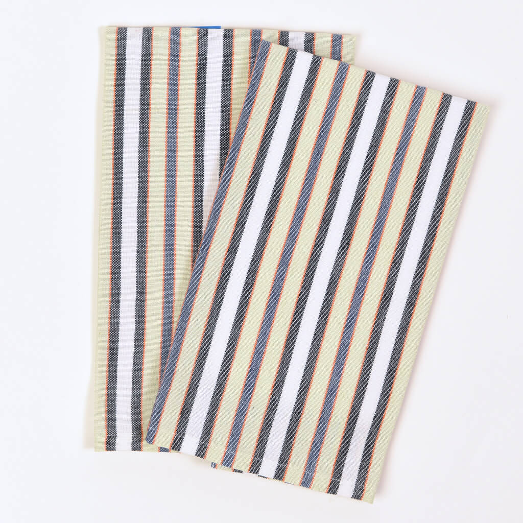 Celery & White Stripes Collection | On Sale