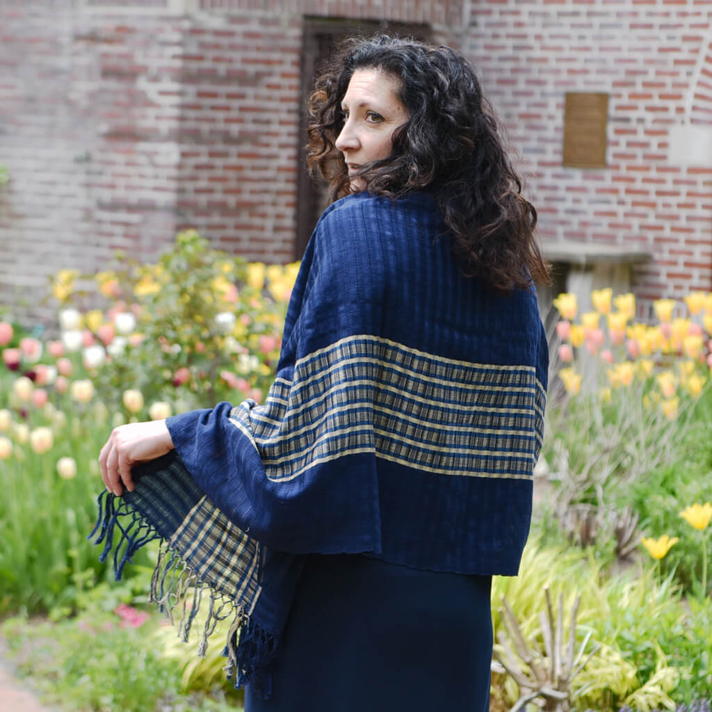 Windowpane Lightweight Shawls