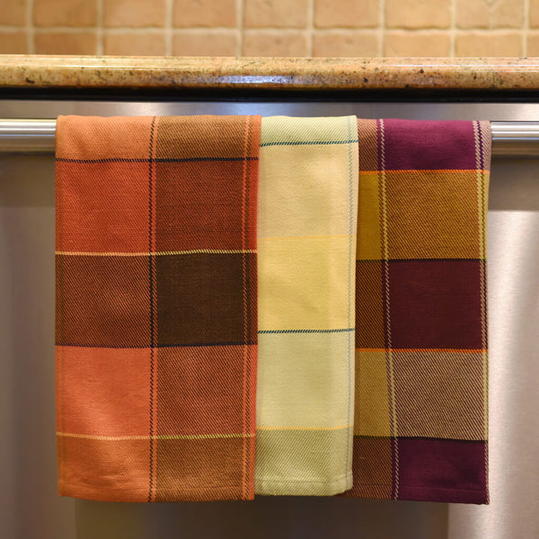 Plaid Kitchen Towels
