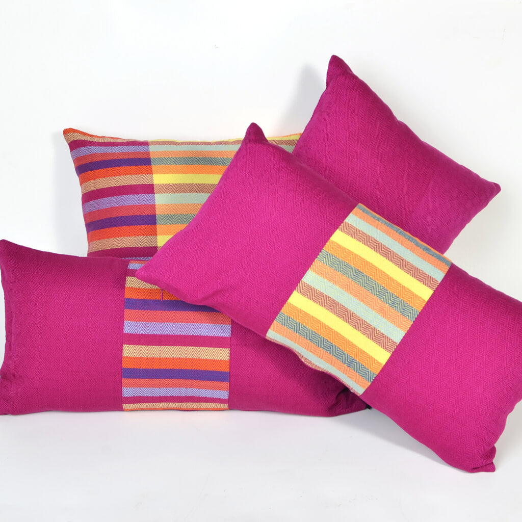 Diamond Stripe Pillows
