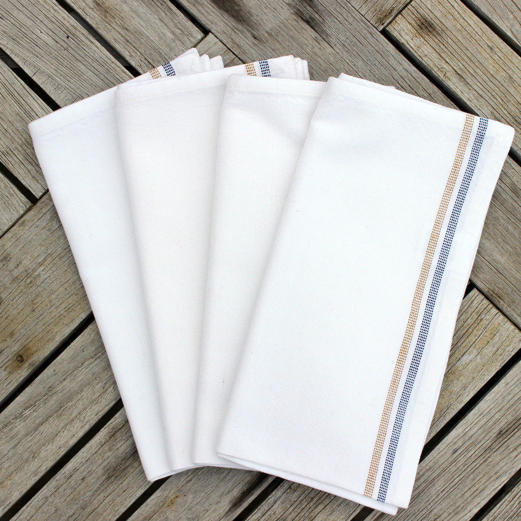 White Celebration Napkins