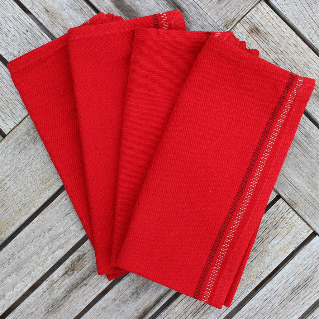 Red Celebration Napkins