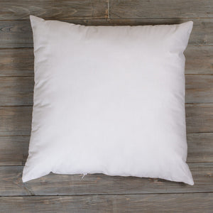 "pillow form insert 18"" square"