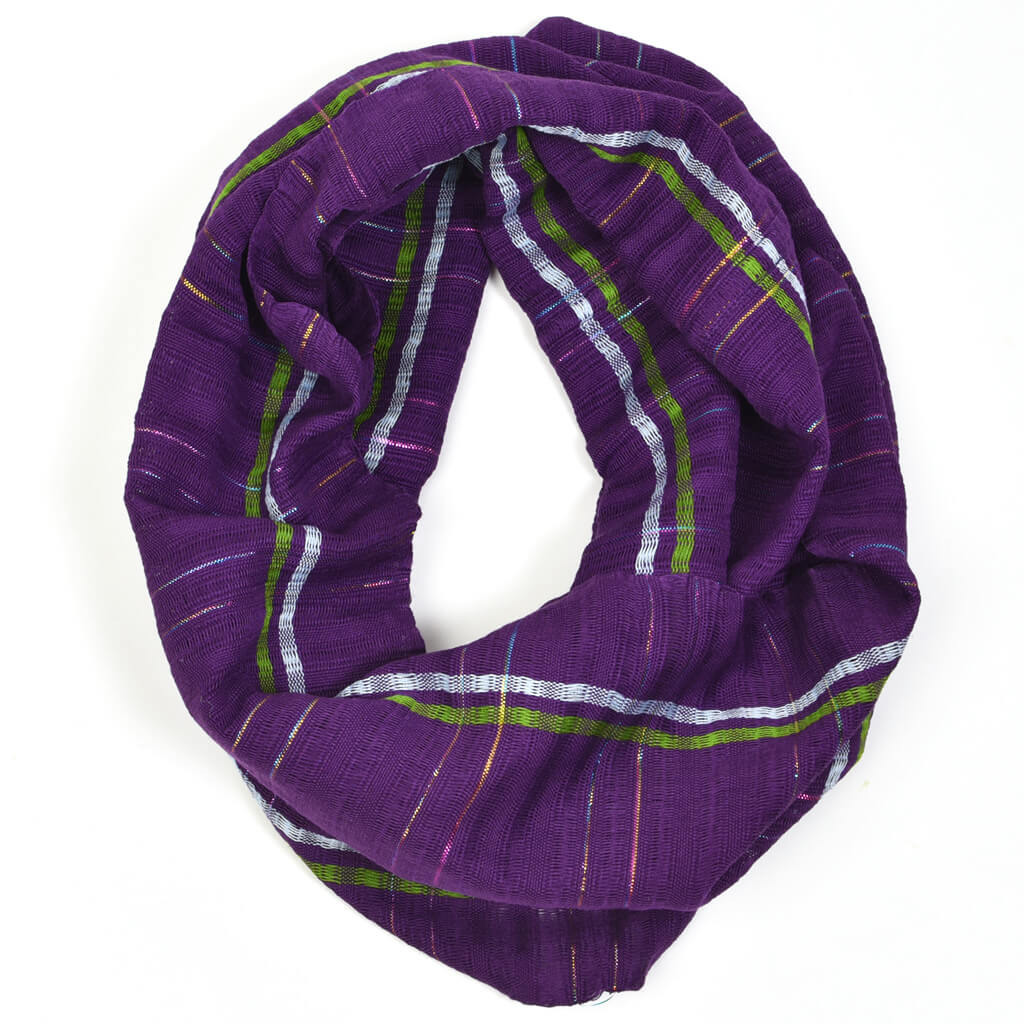 Infinity Scarf | Violet Sparkle