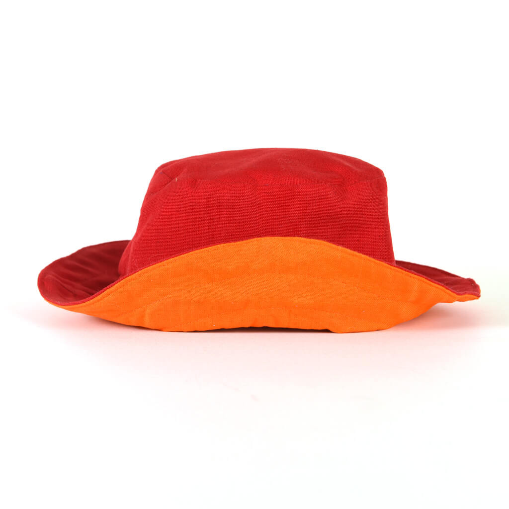 Child Bucket Hat | Bright Red