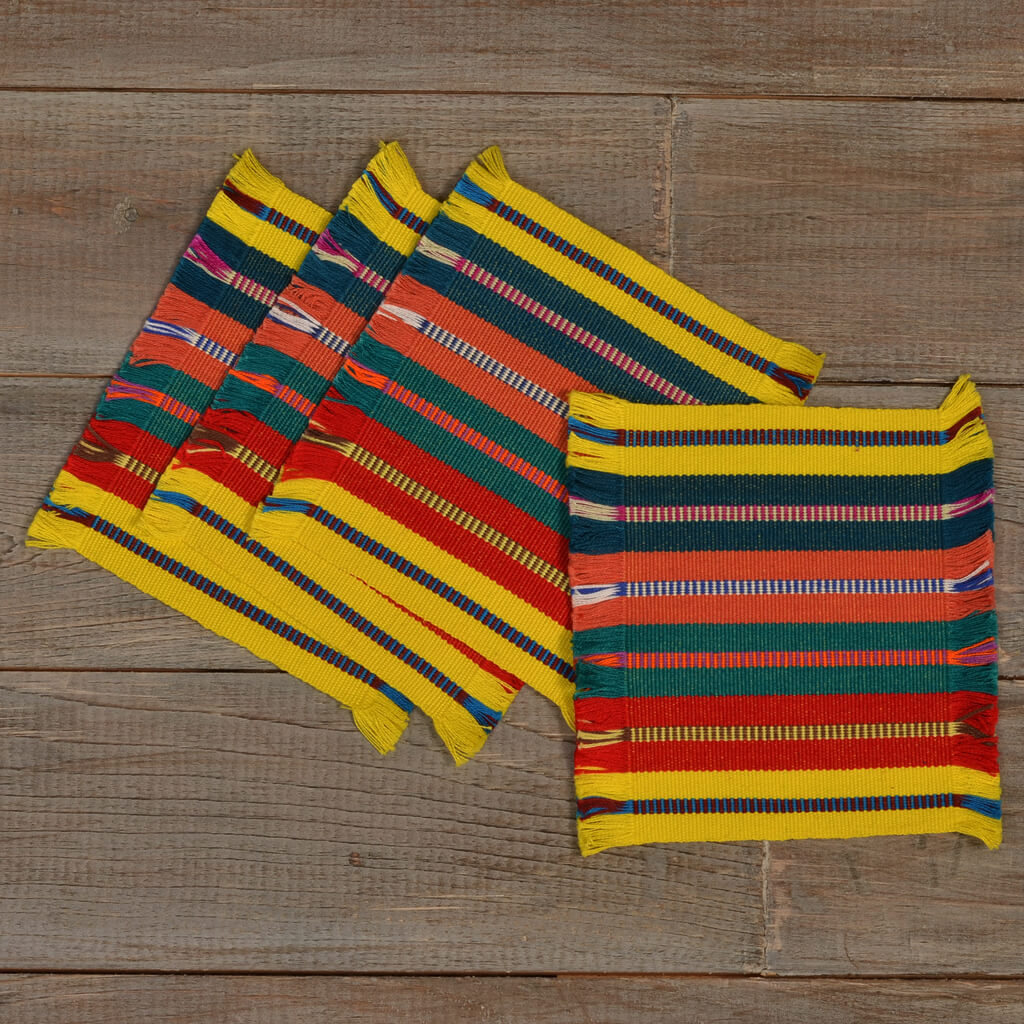 Celebration Coasters | Sunny Stripes