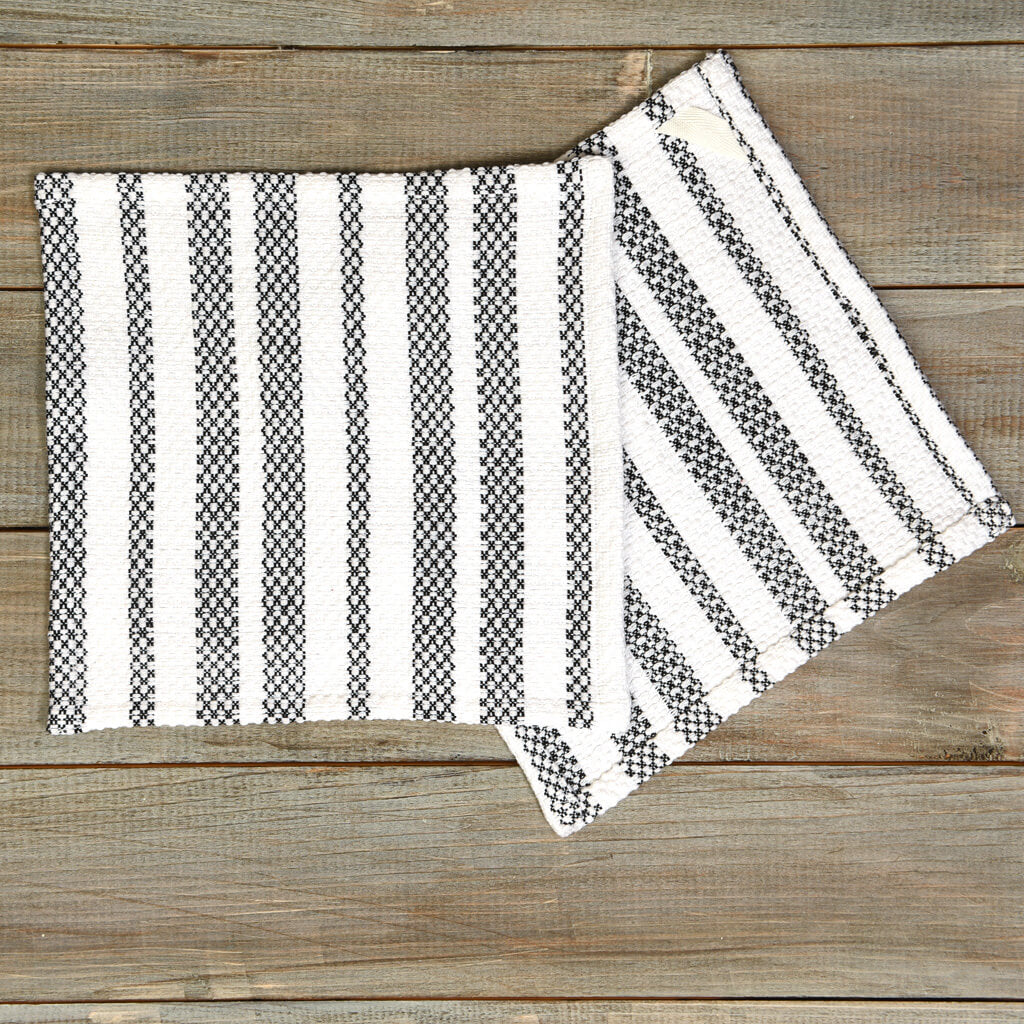 Black & White Dish Cloths