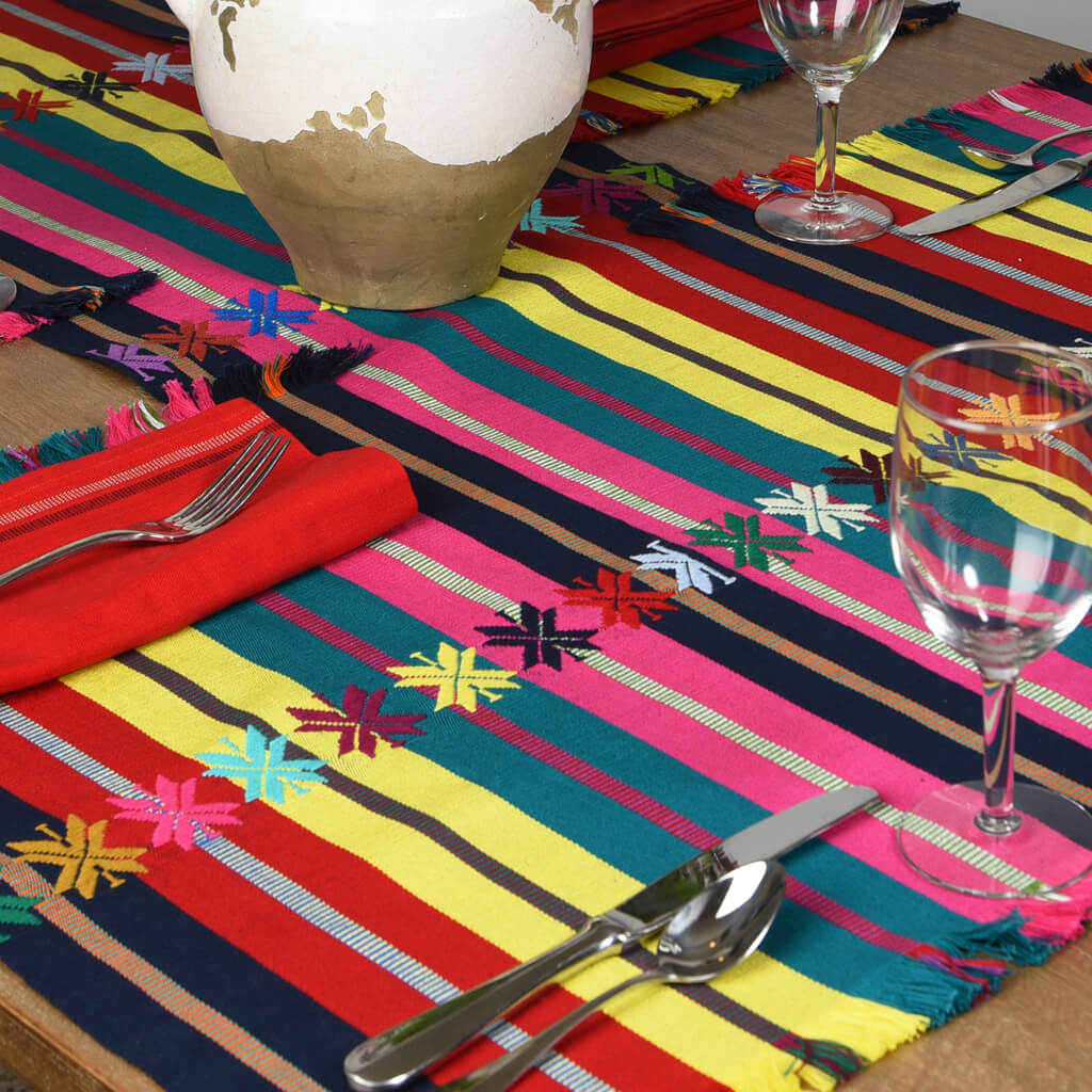 Celebration Table Linen Set | Nautical Flags